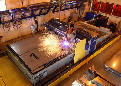 Messer plasma cutter that can cut up to 4 inches