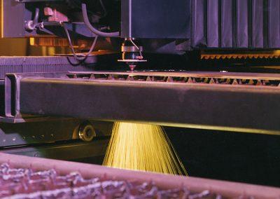 Less than one year old state-of-the-art Cincinnati 4000 watt laser cutter.