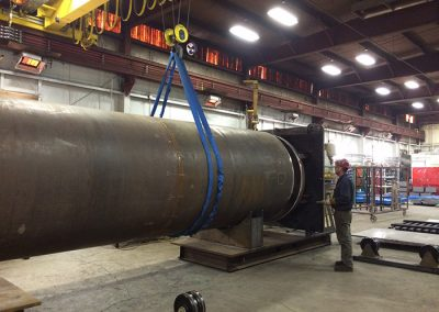 Fabricated can/barrel for turbine pump
