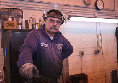 Over 40 skilled welders - hundreds of years of experience